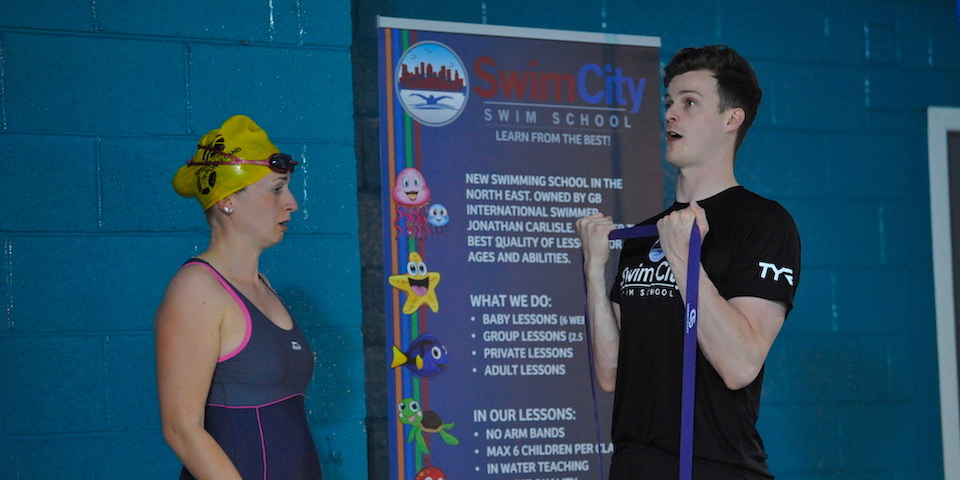 adult swimming lessons Sunderland north east